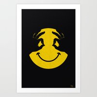 Make You Smile Art Print