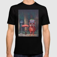 My Neighbor Titan Mens Fitted Tee SMALL Black