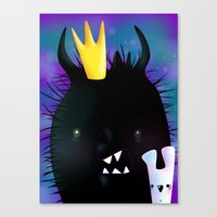 Midnight Monsters Canvas Print