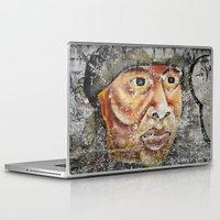 indian Laptop & iPad Skins featuring Indian by Lia Bernini