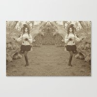 The Ringmaster's Favor Canvas Print