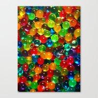 Color Balls Canvas Print