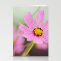 Earth laughs in flowers Stationery Cards