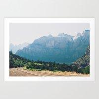 Utah Part 2 Art Print