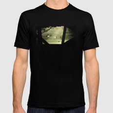 The Search Mens Fitted Tee Black SMALL