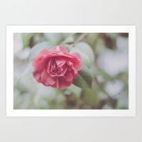 Rose Tree Art Print