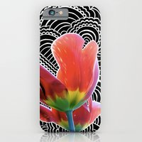 Tulip Drawing Meditation iPhone 6 Slim Case
