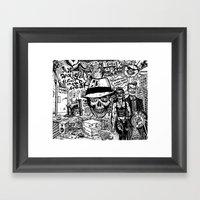 Freak Power Framed Art Print