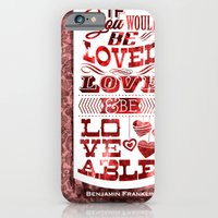 iPhone & iPod Case featuring To Be Loved by rollerpimp