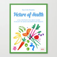 Picture of Health Canvas Print