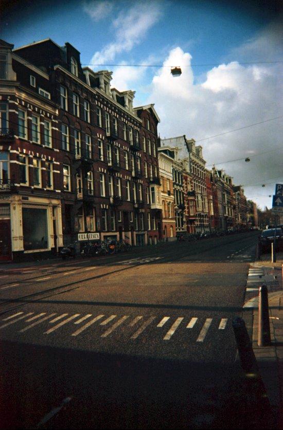 Amsterdam in Winter Art Print