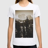 whistler, BC Womens Fitted Tee Ash Grey SMALL