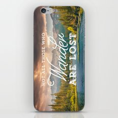 Not All Those Who Wander… iPhone & iPod Skin