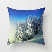 Frozen Top Throw Pillow