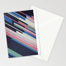 Retro Blue Stationery Cards
