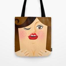 Lola Brown Tote Bag