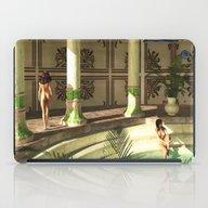 Greek Bath Beauties iPad Case