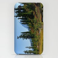 iPhone Cases featuring Trail around Picture Lake by Lena Photo Art