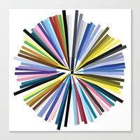 Colours Canvas Print