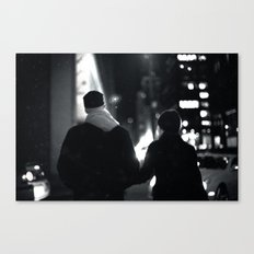 42nd Street Stroll Canvas Print