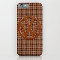 VW Bronze Grill iPhone 6 Slim Case
