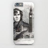 sherlock iPhone & iPod Cases featuring Sherlock  by RileyStark