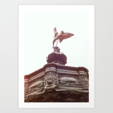 Piccadilly Circus London Art Print