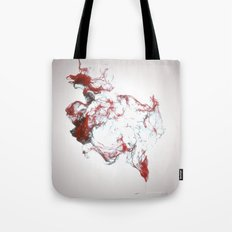 Ink dispersion Tote Bag