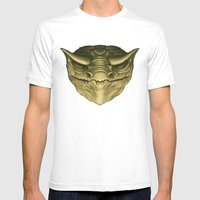 Dragon Head Mens Fitted Tee White SMALL
