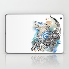 Blue Okami Amaterasu Laptop & iPad Skin