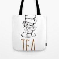 Just Tea Tote Bag