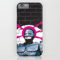 Robocop In Love iPhone 6 Slim Case