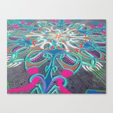 UNION SQ SAND ARTIST Canvas Print