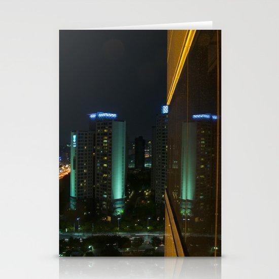 Seoul Reflection Stationery Card
