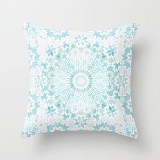 Fez Moroccan Tiles {4E} Throw Pillow