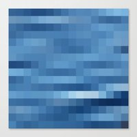 Nature Pixels - No.10 Canvas Print
