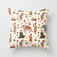 Indian Pattern Throw Pillow