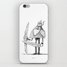Skinny Jeans Viking iPhone & iPod Skin