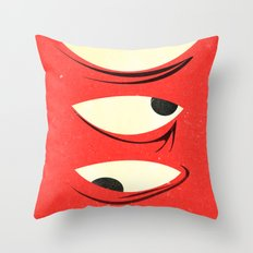 know where to look Throw Pillow