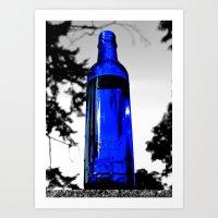 Liquid Skyy Art Print