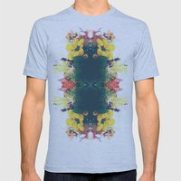 Summer Bouquet Psychedelia 2012 Mens Fitted Tee Athletic Blue SMALL