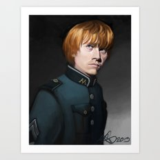 Weasley is our King Art Print