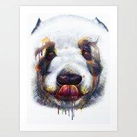 Sweet Panda Art Print