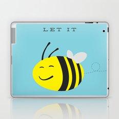 Let it bee. Laptop & iPad Skin