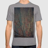 Red Tree Mens Fitted Tee Athletic Grey SMALL