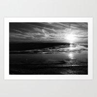 Ojo de Liebre Lagoon Art Print