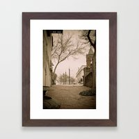 Vicksburg Downtown I Framed Art Print