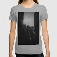 Unite Womens Fitted Tee Athletic Grey SMALL