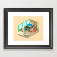 Not Getting Out Of Bed Framed Art Print
