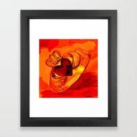 The Claddagh Ring  Framed Art Print